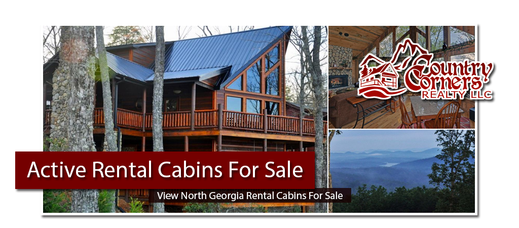 Cabin Rentals Currently For Sale